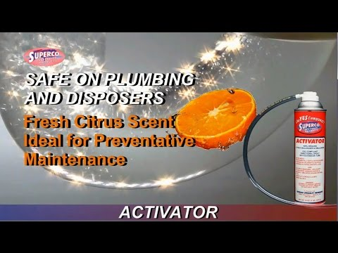Drains Plumbing Sewer Maintenance SUPERCO Specialty Products