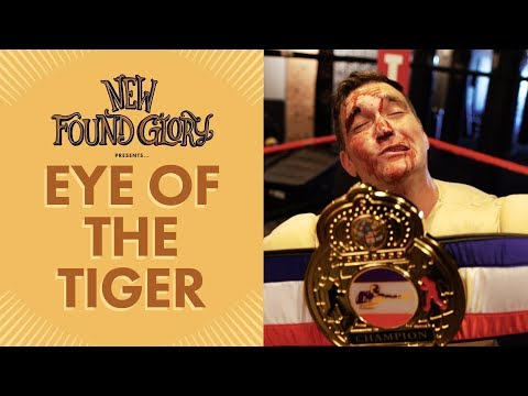 New Found Glory - Eye Of The Tiger (Official Music Video) - New Found Glory
