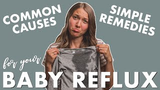 Baby Reflux, Symptoms of GERD + Natural Ways to Relieve Reflux for Babies