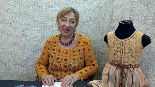 """Вязание крючком для детей от О.С. Литвиной. Комбинезончик """"Чиполлино""""."""