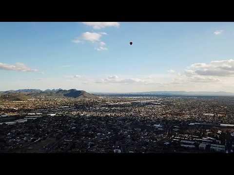 DJI Mavic Pro - Hot Air Balloon Mavic Hovering at 600ft