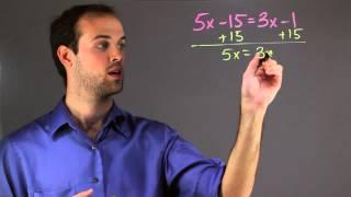 Algebraic Equations For Middle School : Math Skills
