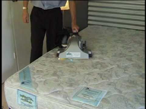 , title : 'AllerX mattress sanitizing system bright idea!