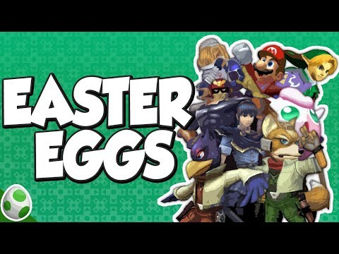 Easter Eggs in Super Smash Bros. Melee - SSBM Easter Eggs - Easter Eggs With DPadGamer