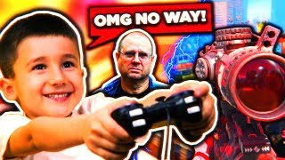 KID FREAKS OUT ON BLACK OPS 3... (dad gets on mic)