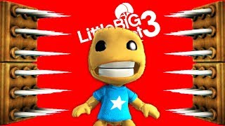 Kick The Buddy Undying Cotton - LittleBigPlanet 3 PS4 Gameplay