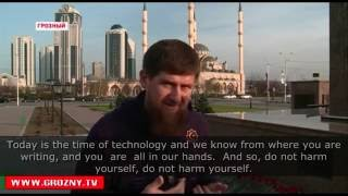 Kadyrov promises revenge for every critical comment made in his address
