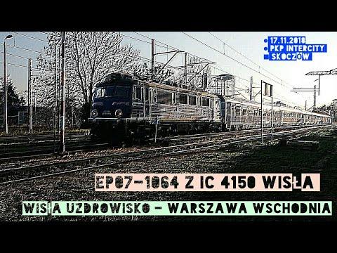 Odjazd EP07-1064 z IC 4150