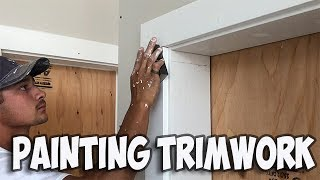 Master Painting Wood Trim