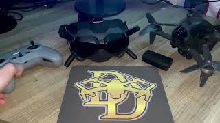 DJI FPV DRONE!!! SET-UP, VIRTUAL SIMULATOR, WALKTHROUGH, & FLYING THE FPV!!!