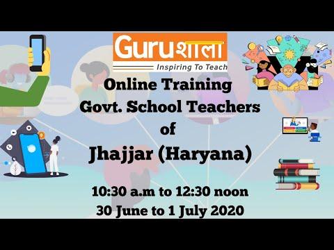 Gurushala Online Teacher Training (30th June 2020) - YouTube