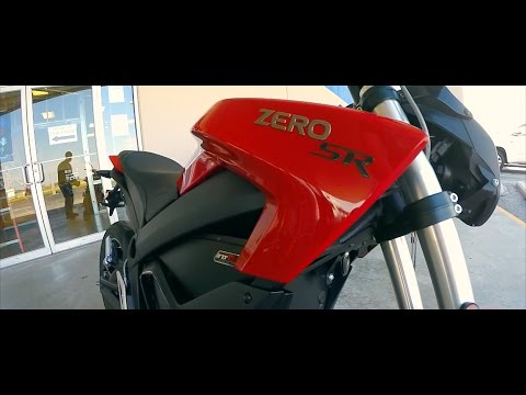 2016 Zero SR | First Time Riding | Electric Motorcycle Full Review