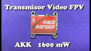 Transmisor de Vídeo FPV Race Ranger AKK de 1600 mW