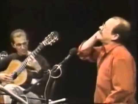 """Sin hijo, ni arbol, ni libro - Recital """"México 1998"""" - Silvio Rodriguez y Rey Guerra"""