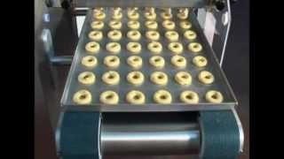 Rotary Drop Cookie Depositing on an Empire Cookie Depositor