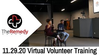 Virtual Volunteer Training #4 - The Remedy Church