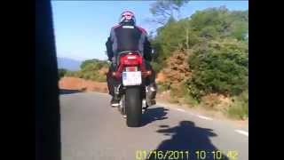 preview picture of video 'FZ6 S2-FZS-ER6N-RS 250-GSX 750F-Salida Talamanca 16-01-11'