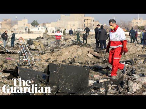 Ukrainian passenger plane crashes in Iran killing 176 people