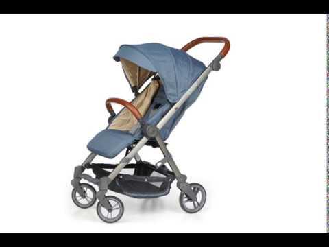 Детска количка BIANCHI с швейцарска конструкция и дизайн, синя ZIZITO  2