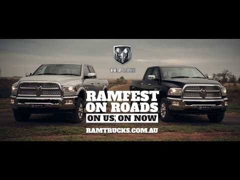 YouTube Video of the Ram Trucks RAMFEST ON ROADS, ON US, ON NOW Special Offer