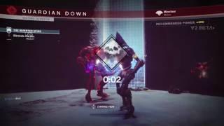Destiny 2 Beta - inverted Spire