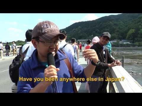 Travelers' Voice of Kyoto:ARASHIYAMA Area Interview 003