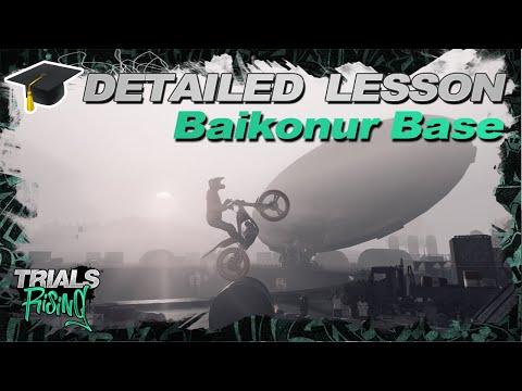 Baikonur Base - Trials Rising Detailed Extreme Walkthrough