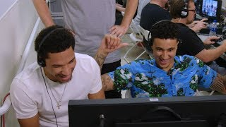 Kyle Kuzma and Josh Hart Make B/R Hosts Do Whatever They Want in Las Vegas Sneaker Store