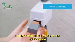 Hướng dẫn lắp đặt và lên lịch cho BTX1 Smart Valve Igreen