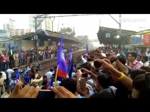 Bhima Koregaon Maharashtra band Mumbai railway