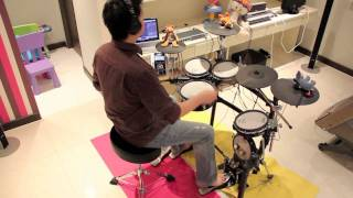 Under a glass moon : Dream Theatre : Drum cover by Bugyean