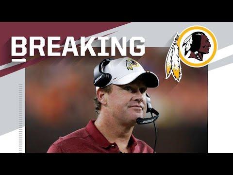BREAKING! Jay Gruden fired from Washington!