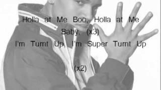 Chris Brown feat. Tyga - Holla at me (Lyrics)