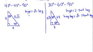 Geometry Review Chapter 8