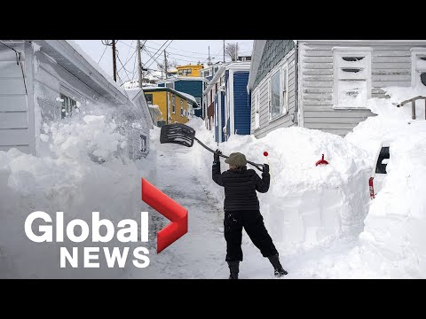 Wintry conditions across Canada, U.S.; Concerns about bushfire impact on Australian landscape