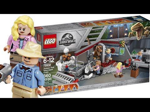 A LEGO Jurassic Park set - FINALLY!