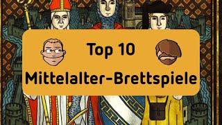 Top 10 Mittelalter - Brettspiele