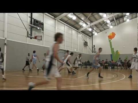 Tom Moscrop crazy full court shot!!