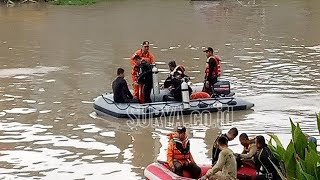Korban Tenggelam di Sungai Jagir Surabaya akan Dicari Selama Tujuh Hari