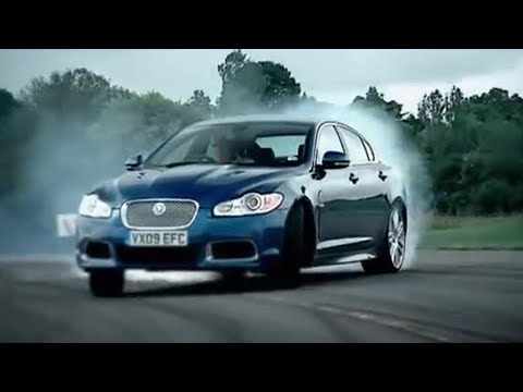 Jaguar XFR review | Top Gear | BBC
