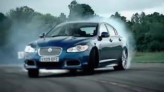 Jaguar XFR review - Top Gear - BBC TV 2009