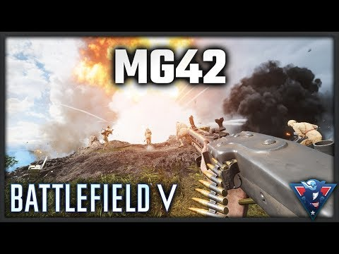 IS THE MG42 GOOD? || Battlefield V - War in the Pacific Gameplay