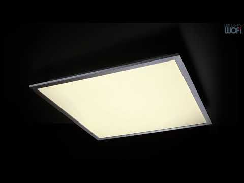 WOFI LEUCHTEN LED-Deckenleuchte Liv