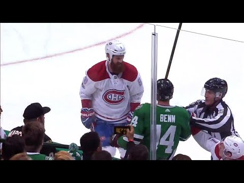 Gotta See It: Canadiens' Benn finishes check on brother Jamie with parents in attendance