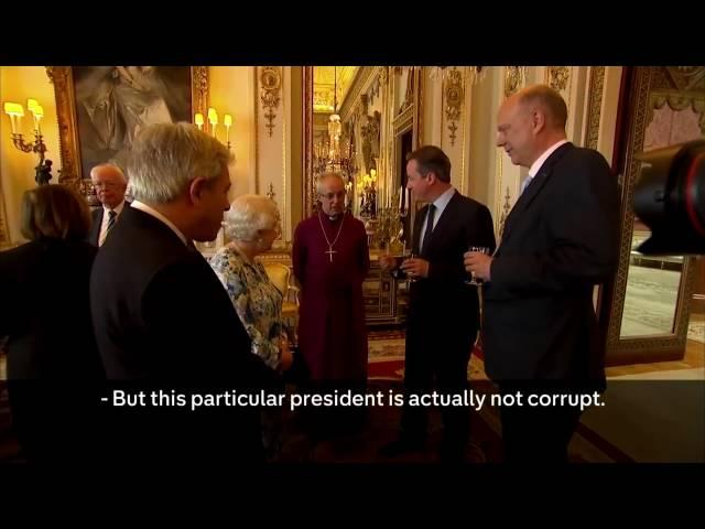 Nigeria Are 'MOST CORRUPT COUNTRIES ' In The World David Cameron Queen Elizabeth II