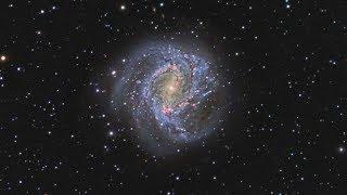 Галактика Южная Вертушка – одна из видимых невооруженным глазом на небосводе