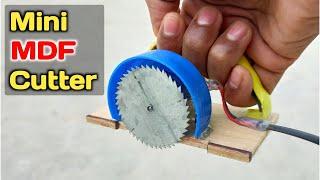 How to make circular saw | at home | how to make mdf cutting machine | MDF board काटने की मशीन बनाएं