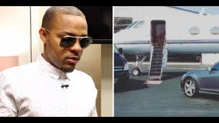 Bow Wow tries to explain Fake stunting on a Private Jet and claims it was only a 'MOOD' picture.