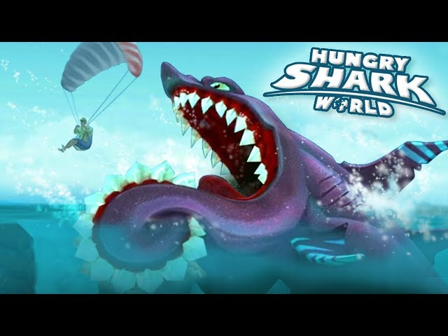 NEW Shark BUZZ The Helicoprion!!! - Hungry Shark World   Ep 47 HD