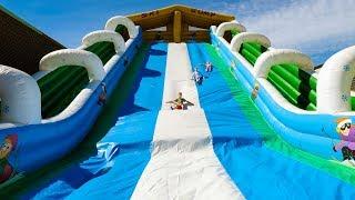 Fun Huge Outdoor Bouncy Castle Slide for Kids